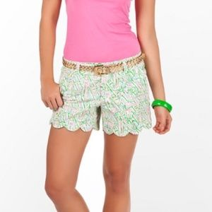 Lilly Pulitzer Guiding Light House Sailboat Shorts